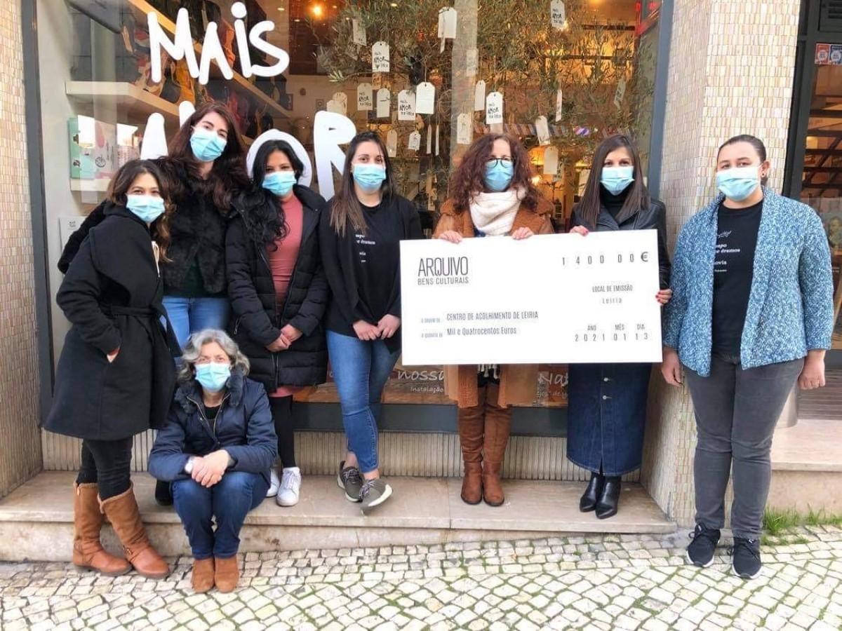 Campanha de Natal 'dá' 1.400€ ao Centro de Acolhimento