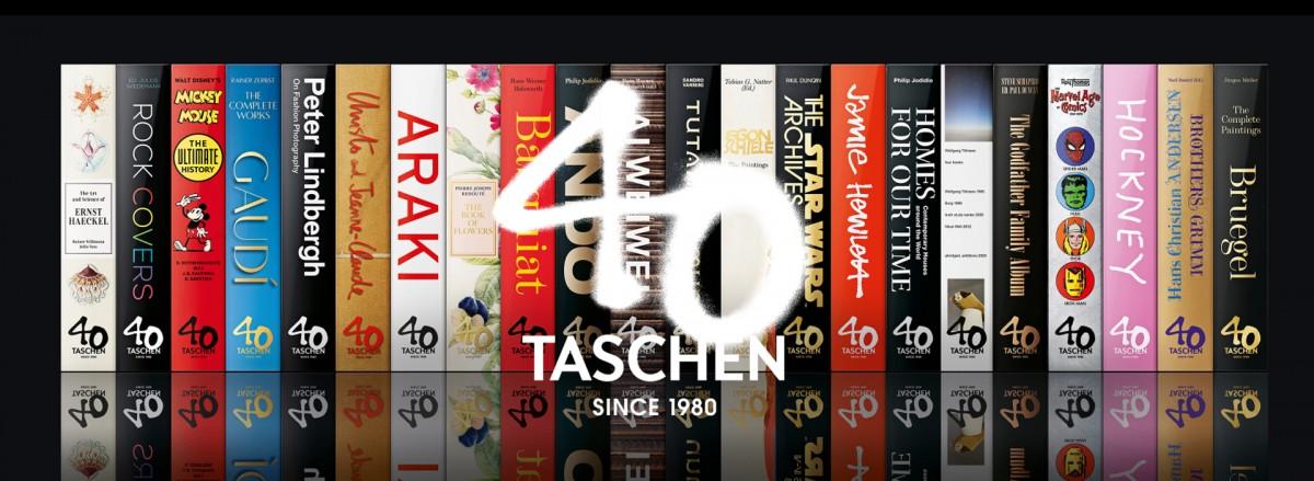 40 anos de Taschen