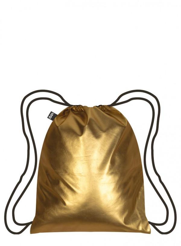 MOCHILA METALLIC MATE GOLD
