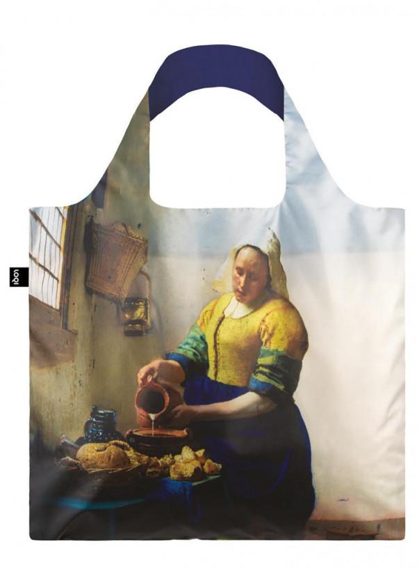 VERMEER The Milkmaid, 1658-60 & IRMA BOOM DNA 19