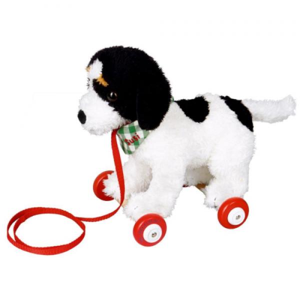 SPIEGELBURG Cão Susi – com rodinhas e trela