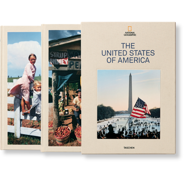 NATIONAL GEOGRAPHIC. AROUND THE WORLD IN 125 YEARS: U.S.A.