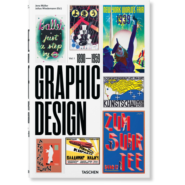 THE HISTORY OF GRAPHIC DESIGN. VOL. 1, 1890 | 1959