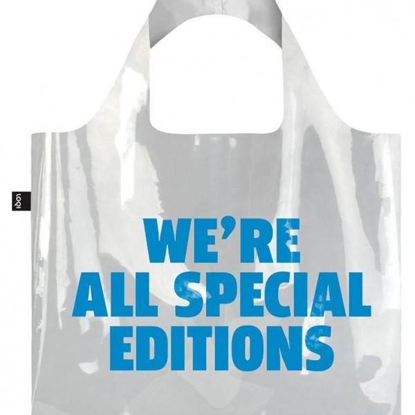 TRANSPARENTE WE'RE ALL SPECIAL EDITIONS