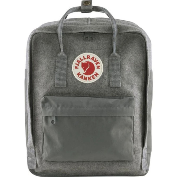 FJÄLLRÄVEN  KÄNKEN MOCHILA RE-WOOL GRANITE GREY