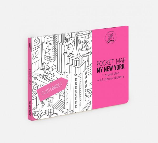 MY NOVA IORQUE - MAPA DE BOLSO