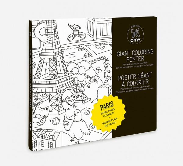 PARIS - POSTER GIGANTE
