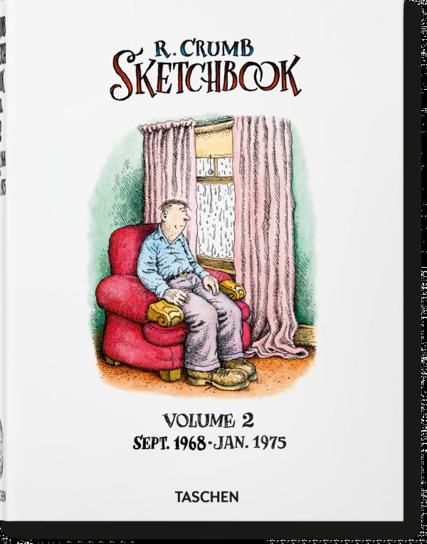 ROBERT CRUMB. SKETCHBOOK, VOL. 2: 1968–1975