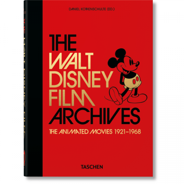 THE WALT DISNEY FILM ARCHIVES. THE ANIMATED MOVIES 1921–1968